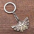 JM Novidade The Legend of Zelda Skyward Keychain Símbolo clef Chaveiro Liga de Zinco Chaveiro Cosplay Jóias porte Marrom