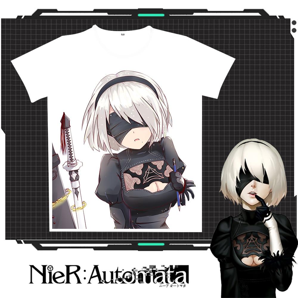 New Nier: T-shirt Rastesishme Automata 2B Burra Verore Gratë e - Veshje për meshkuj - Foto 6