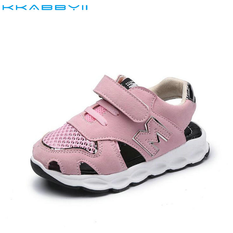 KKABBYII Children Casual Shoes Baby Sandals Male Child Sandals Children Baby Boy Summer Beach Sandals Kids Mesh Shoes Sneakers