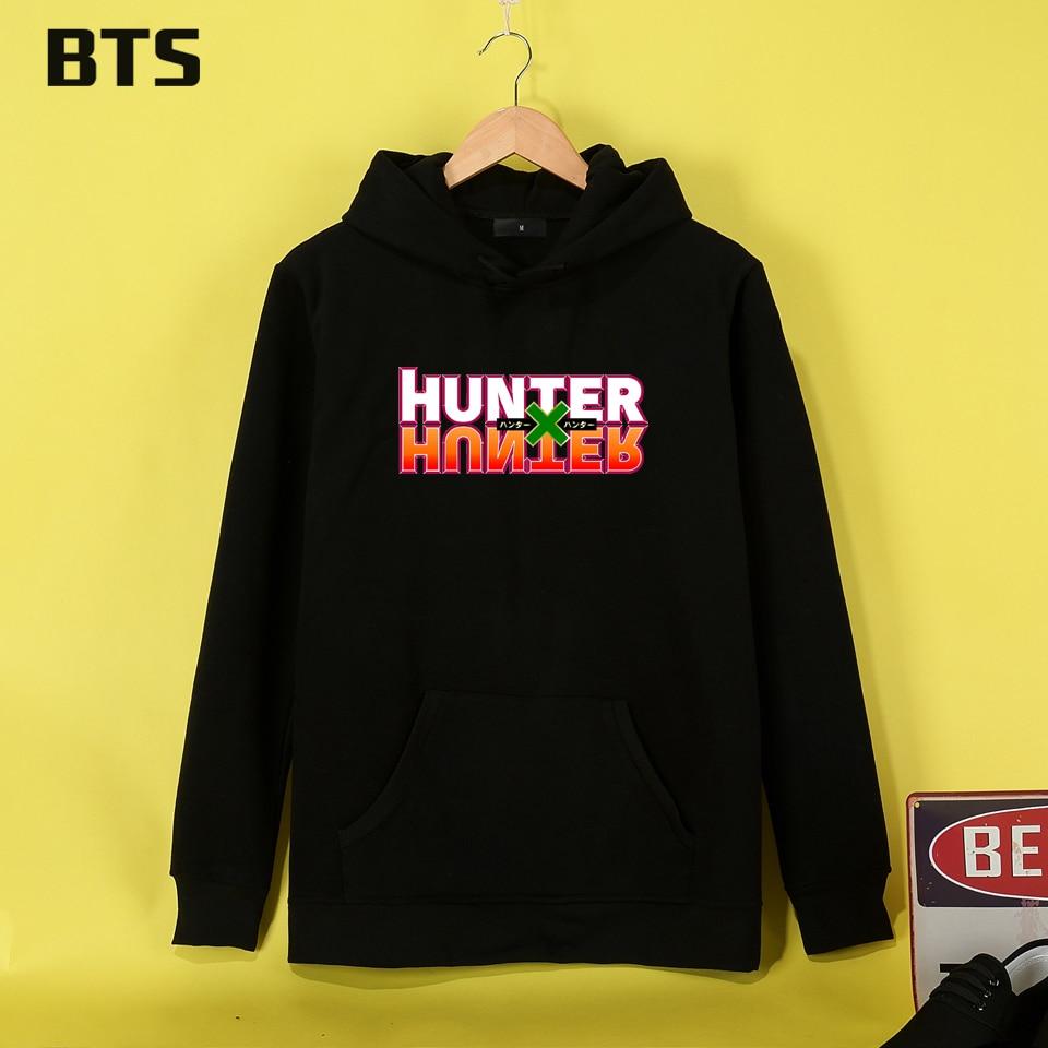 BTS Hunter X Hunter Hoodies Mulheres High Quality Female Sweatshirt Ladies Casual Fashion Women Hoodies Sweatshirts
