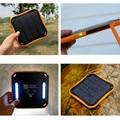 5600 mAh Cargador Solar Banco de la Energía Impermeable Teléfono Dual USB para iphone 5s 6 s 7 plus para samsung s7 para todos teléfono