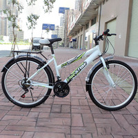 High carbon steel 18 speed 24 inches 40 spoke wheel bike Cycling wholesale mountain bicycle