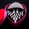 Cappelli Da Sposa Brilho Conjuntos de Acessórios Do Casamento Coroa Acessórios De Noiva Prata Banhado Africano Beads Baratos Online 2016