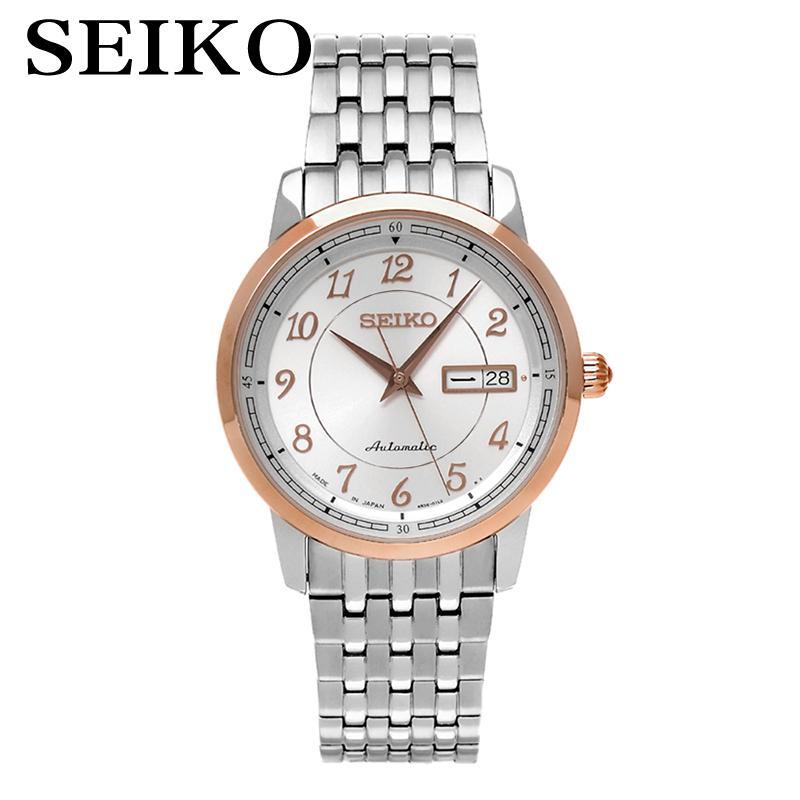 SEIKO Watch Presage Business Automatic Mechanical Watch Waterproof Male Form SRP334J1 SRP389J1 seiko watch no 5 automatic mechanical watch male watch snk621k1 snk623k1