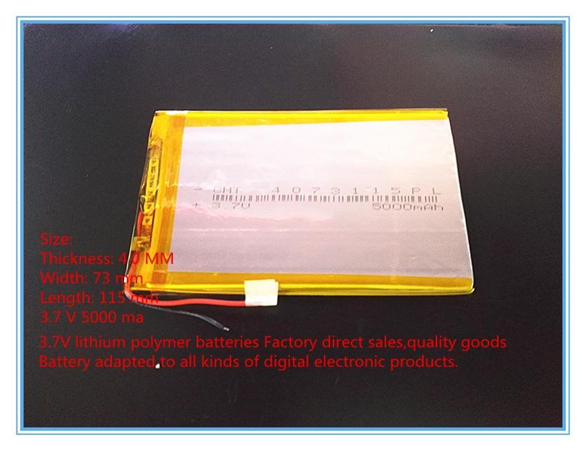 3,7 V, 5000 mAH, [4073115] PLIB; bateria de polímero de íon de - Acessórios tablet