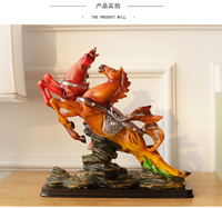 quick horse study Horse crafts decoration home wedding religious western statues Animal art statues racing sample room