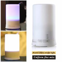 LED Night Light USB Essential Oil Ultrasonic Aromatherapy Protecting Air Humidifier Dry Electric Fragrance Diffuser(China)