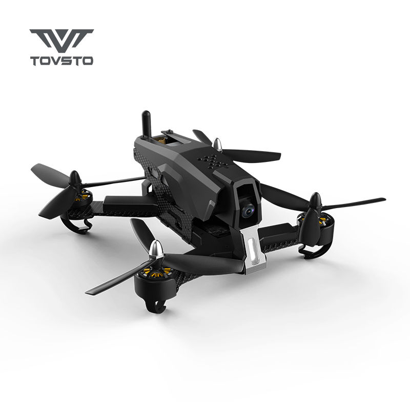 Tovsto Falcon 210 RTF 210mm 6CH 5.8G FPV Racing 540TVL HD Camera RC Racer Drone Quadcopter Black A bfight 210 210mm brushless fpv racing drone
