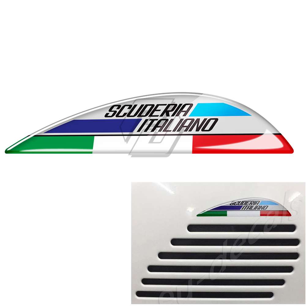 Motorcycle Tank Decals Case For PIAGGIO VESPA GTV GTS 125 250 300 Super
