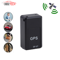 Super Mini GF-07 GPS Tracker GSM GPRS Mini Car Magnetic GPS Anti-Lost Recording Tracking Device Locator Tracker