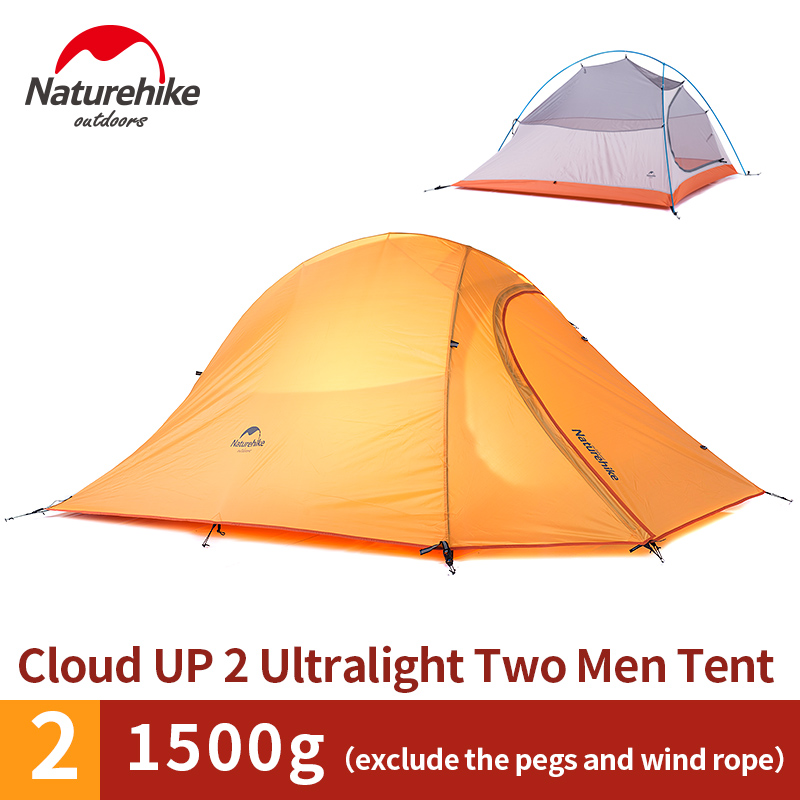 NatureHike 2 Man Lightweight C&ing Tent Outdoor Hiking Backpacking Cycling Ultralight Waterproof 2 Person C& Tent-in Tents from Sports u0026 Entertainment ...  sc 1 st  AliExpress.com & NatureHike 2 Man Lightweight Camping Tent Outdoor Hiking ...