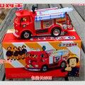 Envío libre FIREMAN SAM Camión De Juguete Camión de Bomberos Coche Con La Música + LED Juguete de Niño Juguetes educativos