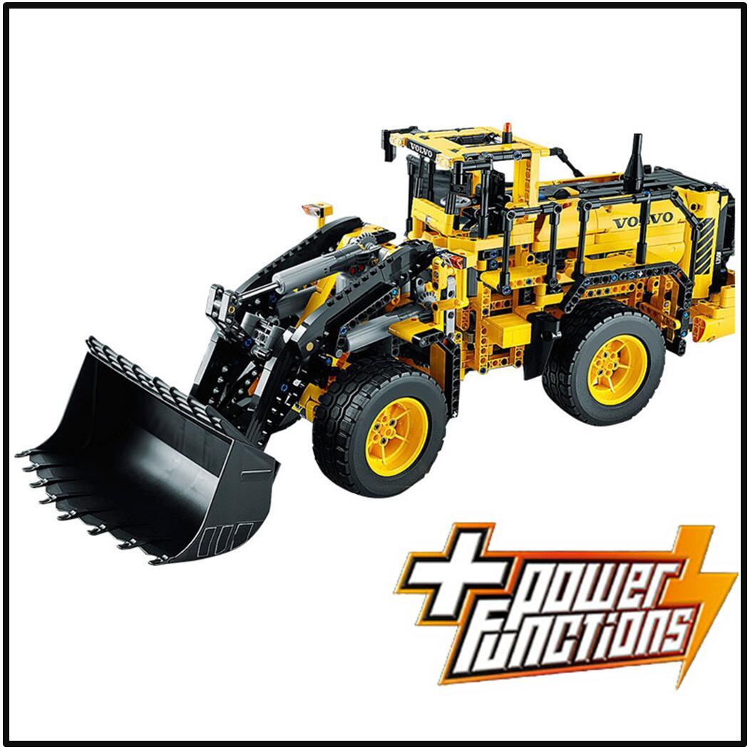 Lepin 20006 compatible legoes technic volvo l350f wheel loader 42030 building blocks model toys for children