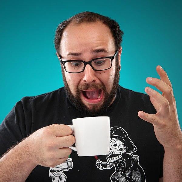 Free Shipping 1Piece <font><b>Shark</b></font> Attack Mug Ceramic <font><b>Shark</b></font> Mug Coffee <font><b>Cup</b></font> Office Coffee Mug