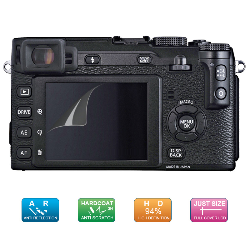 """3 Pack Camera LCD Screen Protector Film For Pentax X-5 3/"""""""