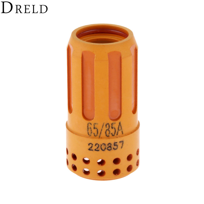 DRELD 1pc 45A-85A Swirl Ring 220857 For 65 85 Plasma Cutting Torch Consumables Handheld Or Mechanized Torch Welding Supplies