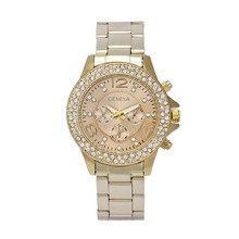High-Profile luxury women watch quartz watch bracelet watches stainless steel Crystal Rhinestone women watches clock reloj mujer