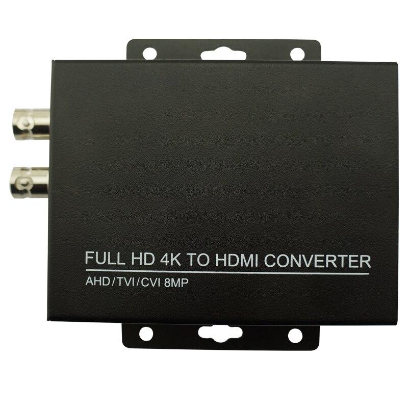 4k Full HD Video Converter AHD To HDMI CCTV Camera 5MP TVI Camera  For CCTV Camera Converter Video