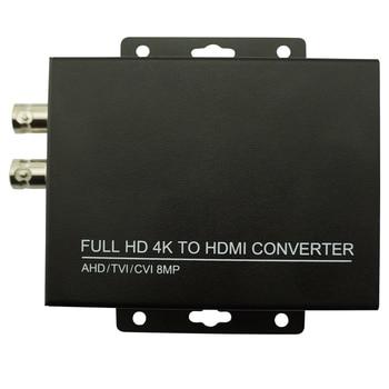 4k Full HD Video converter AHD to HDMI CCTV Camera 5MP TVI  For video