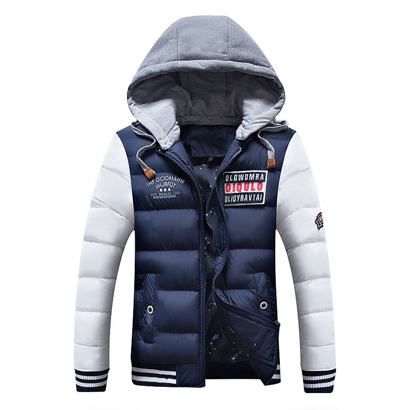 2019 Winter Fashion Brand Jackets And Coats Men Hooded Thick Streetwear   Parkas   Korean Puffer Bubble Coat Mens Clothing