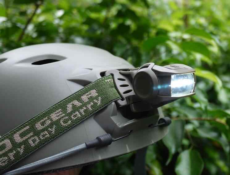 EDCGear 2 個弾性ヘッドストラップ調節可能なヘッドバンド用前照灯屋外のキャンプのヘッドライトツール