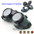 New Welding Safety Goggles Work Safety Glasses For Flaming Cutting Brazing Soldering Eye Protector Soft PVC 2 Layer Lens