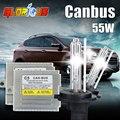 C5 55 W CANBUS livre H7 xenon HID farol do carro H1 H3 H4 H7 H8 H11 9005 9006 Canbus D2S lâmpada 4300 K 6000 K 8000 K ESCONDEU lâmpada de xenônio