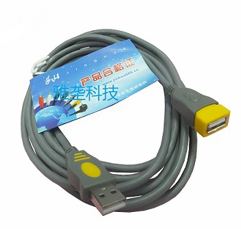 5 feet high quality copper shielded usb extension data cable usb male to female for wireless network card and more