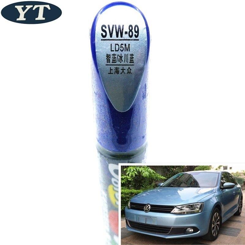 Car Scratch Repair Pen, Auto Painting Pen BLUE Color For Volkswagen Polo Golf 6,7 Touran Passat Tiguan CC ,car Painting Pen