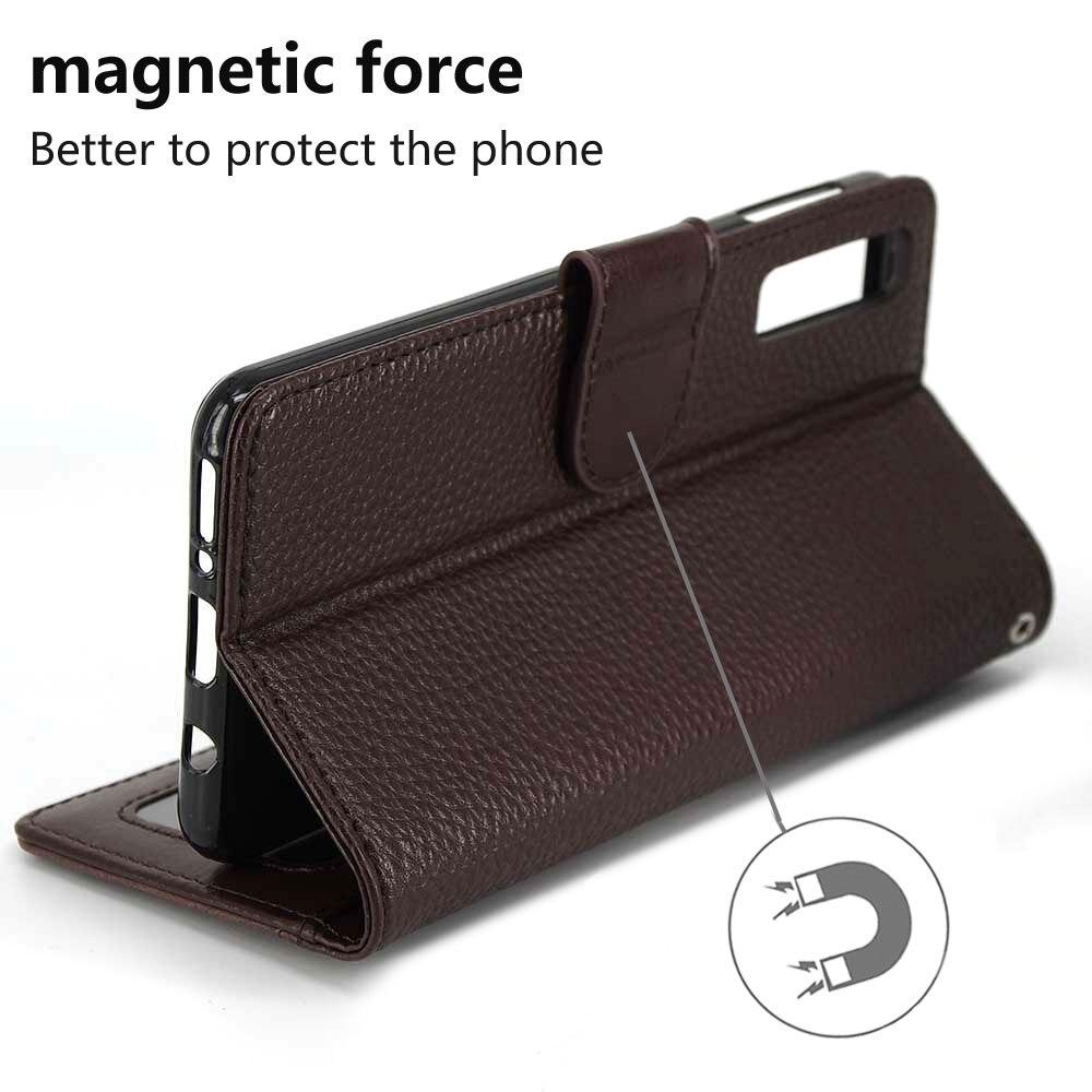IDOOLS PU Leather Flip Case for Samsung galaxy A7 2018 A750 6.0