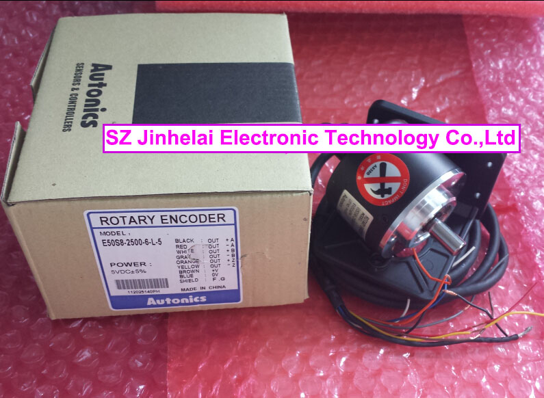 все цены на AUTONICS E50S8-2500-6-L-5 New and original Incremental rotary encoder онлайн