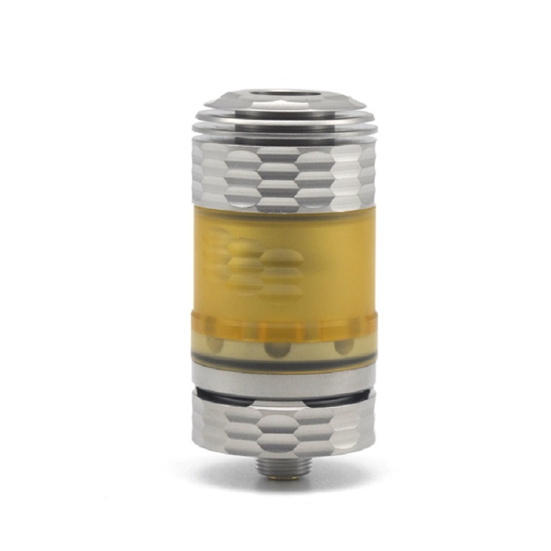 Newest RTA Hussar The End Style 316SS 510 threading 22mm RTA Rebuildable Tank Atomizer with Dual posts build deck for vape Mod the king s hussar