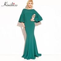 Kinikiss Sexy Women Boho Maxi Club Dress Trumpet Bandage Long Dress Party Multiway Bridesmaid Convertible Robe
