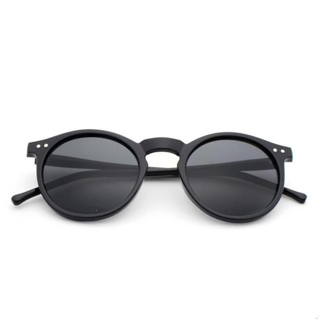 New Fashion Trend Round Sunglasses Women Multicolour Frame New Mercury Mirror Lens Glasses Men Coating Round Sunglasses Men