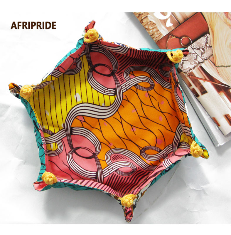 Fashion Tray For African Family Storage Artifact Pure Manual African Women Tray