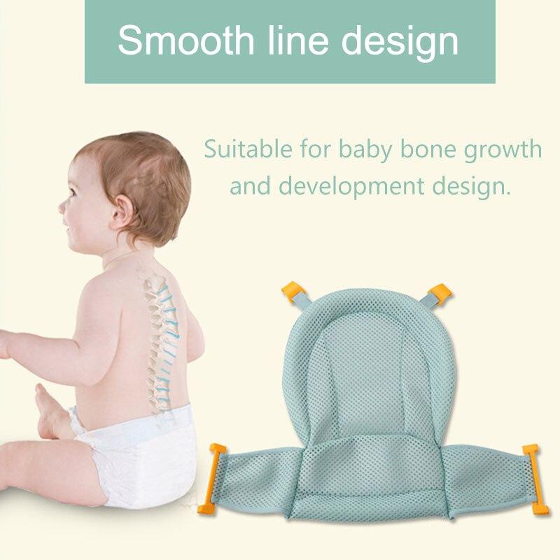 bebe banho de malha assento suporte rede banho banheira cuidados infantis chuveiro ajustavel sling net m09
