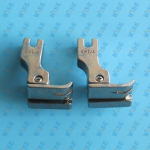 Compensating Presser Foot for Industrial Sewing Machines – Right Side # CR 1/32″  1/16″  3/32″  1/8″  5/32″  3/16″  1/4″ (2 PCS)