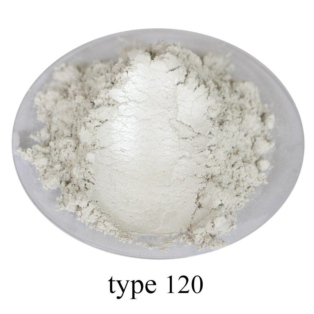 Intelligent Typ 120 Pigment Perle Pulver Gesunde Natürliche Mineral Glimmer Pulver Diy Farbstoff Farbstoff, Verwenden Für Seife Automotive Kunst Handwerk, 50g Billigverkauf 50%