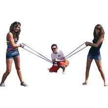 Катапульта водный шар Рогатка/пушка/пусковая установка музыкальные уличные игрушки 3 человек Рогатка Водяная бомба бросок снежки истребитель