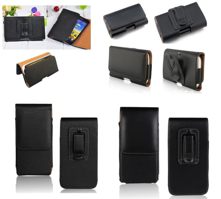 Leather Pouch Holster Belt Clip Case For <font><b>HOMTOM</b></font> ZOJI Z8 Z6 Z7 Bag ZOJI S12 Z9 Z33 Z11 R17 C8 S17 C1 C2 H10 S99 Ulefone <font><b>S10</b></font> <font><b>Pro</b></font> image