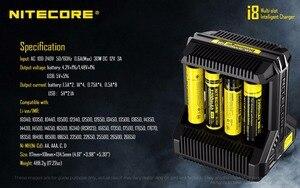 Image 3 - Nitecore i8 インテリジェント充電器 8 スロット合計 4A 出力スマート充電器 IMR18650 16340 10440 AA AAA 14500 26650 と USB デバイス