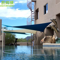 4 x 7 M/pcs Customized Waterproof Sun Shade Sail Combination PU Coated Polyester fabrics material for Patios