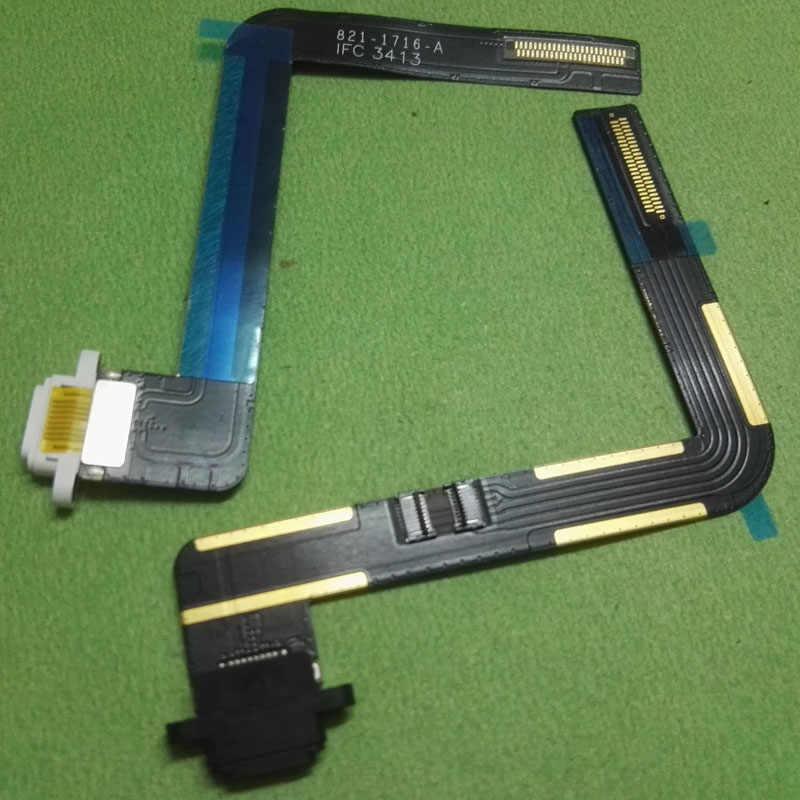 USB charger Charging Dock port connector สายเคเบิล flex สำหรับ apple ipad air ipad 5 2017 ipad 5 A1474 A1475 A1476 A1822 A1823