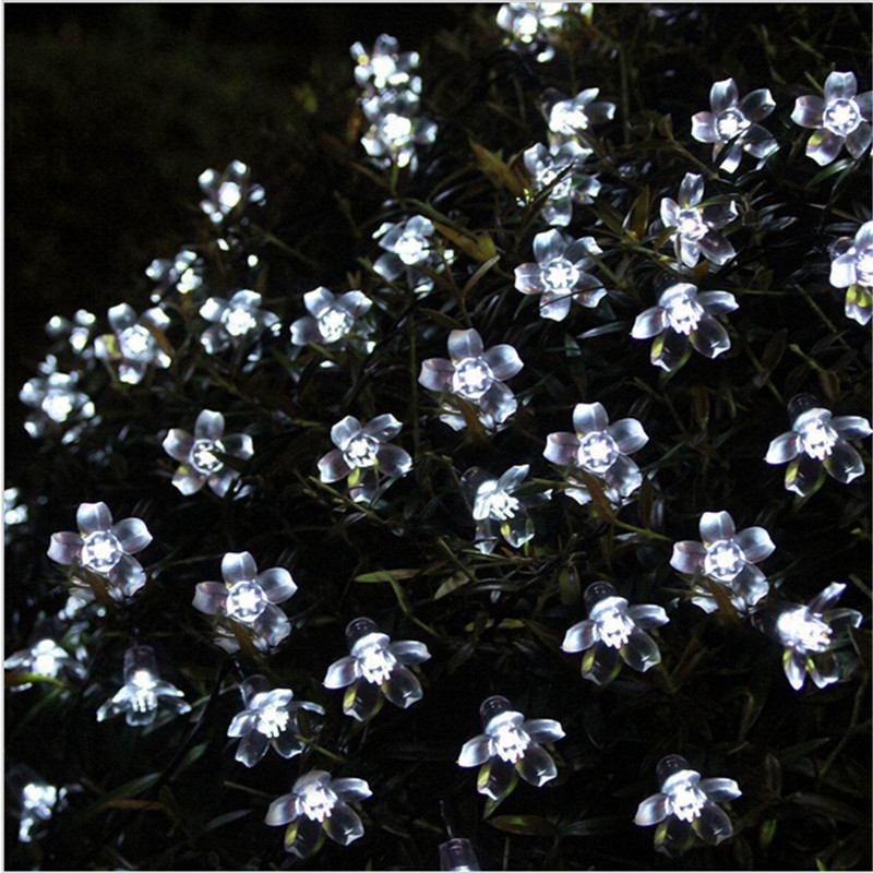 Flower String Lights Outdoor : Online Buy Wholesale decorative flower lights from China decorative flower lights Wholesalers ...