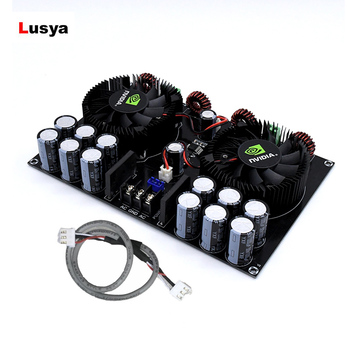 TDA8954TH Amplifier Audio Digital Power Amplifier Board+ Cable 420W*2 High Power Two Channel Amplificador Amplificateur