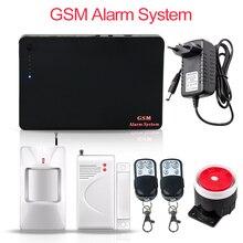 315/433 MHz Sans Fil GSM Systèmes D'alarme de Sécurité Home security IOS Android Smart APP Cambrioleur GSM Système D'alarme avec détecteur PIR