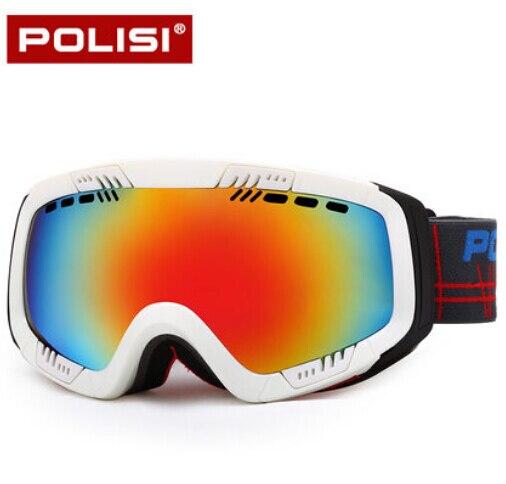 Polisi invierno hombres mujeres snowmobile gafas al aire libre del esquí de la n
