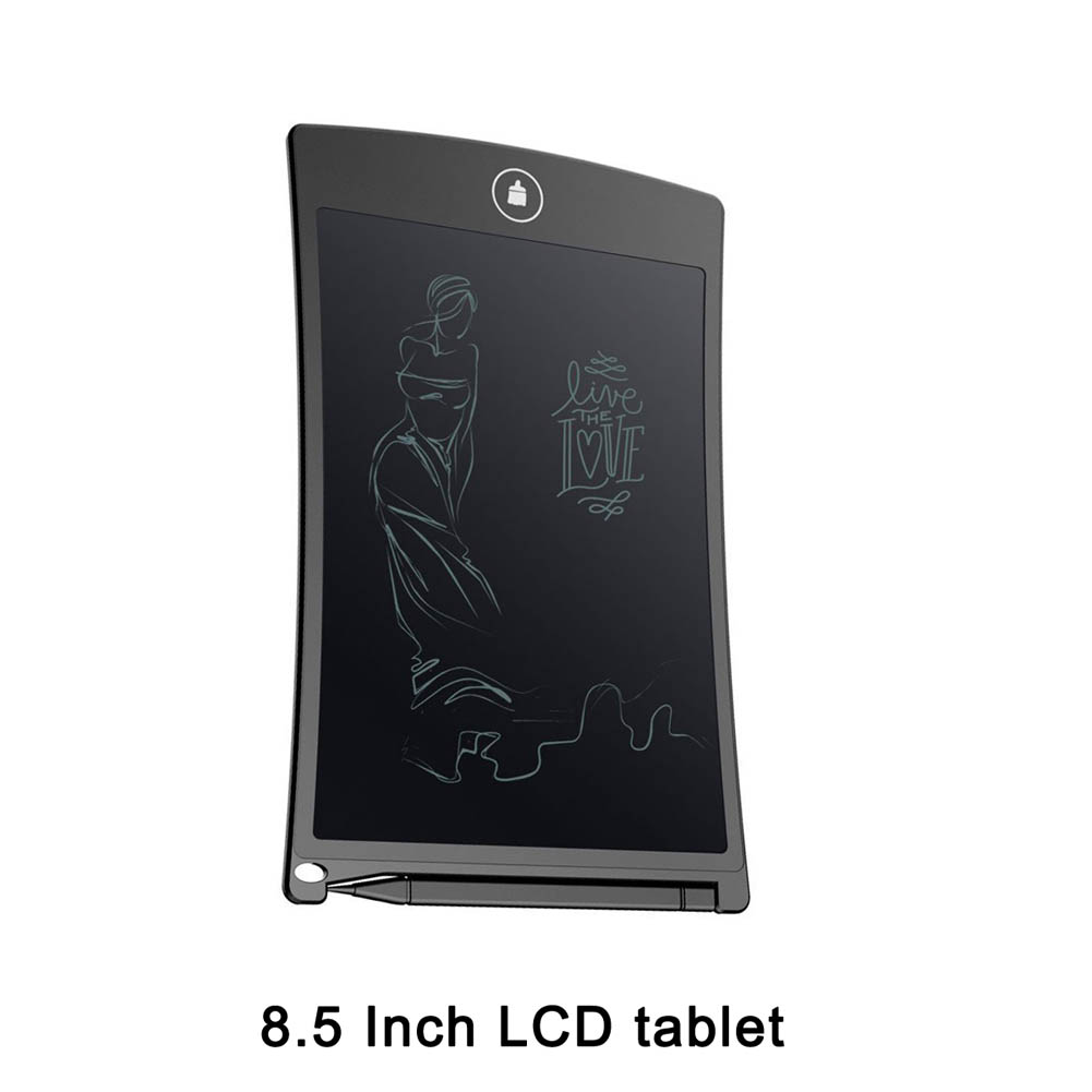 Portable LCD Writing Tablet 8.5 Inch Writing Board + Stylus Drawing Board House Office Writing WIF66