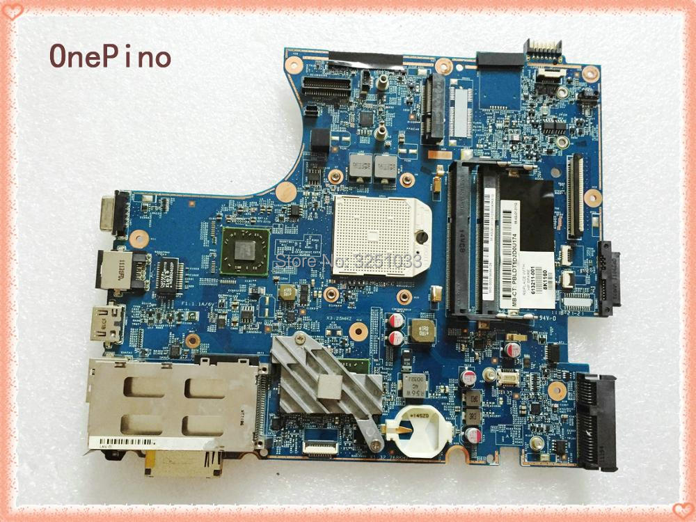 for HP ProBook 4525s Notebook PC 613211-001 laptop motherboard FOR AMD DDR3 all functional Tested ok 654306 001 fit for hp probook 4535s series laptop motherboard 1gb ddr3 socket sf1 100% working