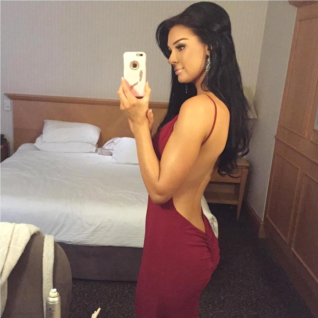 1a1da0a360 Sexy Satin V Neck Backless Junior Asymmetrical Burgundy Mermaid Cut Long  Prom Dresses 2017 For Black Girls Lily Collins-in Prom Dresses from Weddings  ...